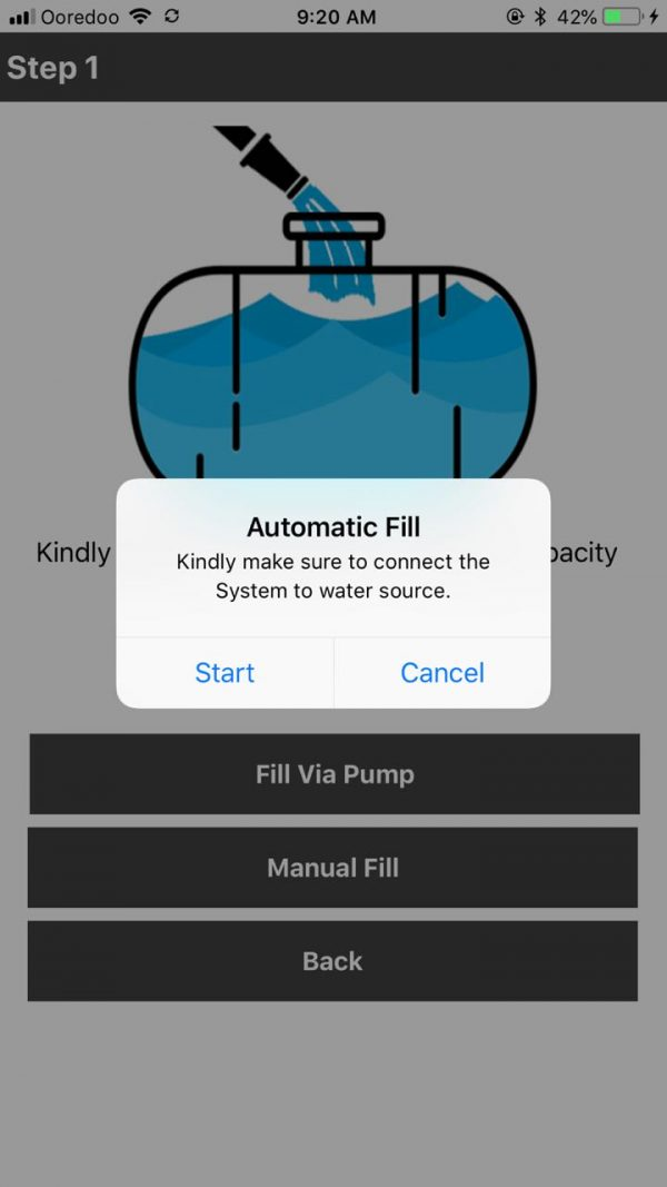 Automatic Fill